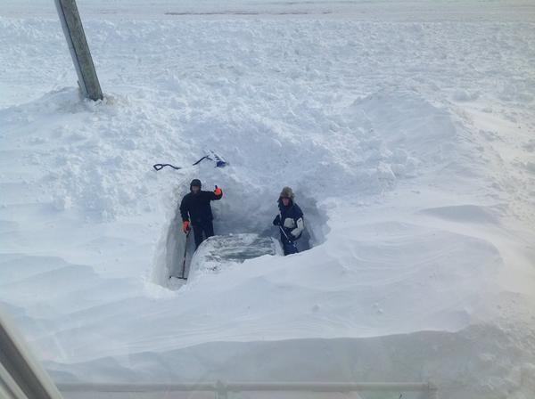 Est Canada recouvert neige 3