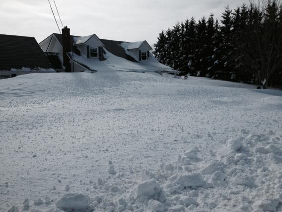 Est Canada recouvert neige 5
