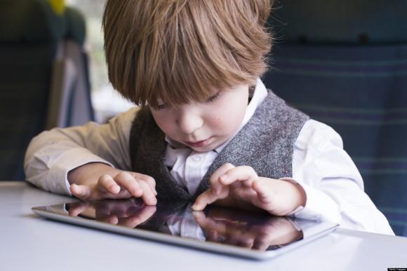 enfant iPad developpement calmer