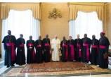 Le pape François exhorte les évêques d'Afrique à résister aux idéologies qui détruisent la famille
