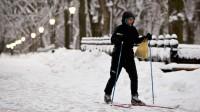 La photo: Nouvelles du réchauffement global. Detroit et New York