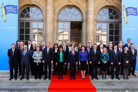 Citoyennete tolerance discrimination Najat Vallaud-Belkacem declaration ministres Education UE