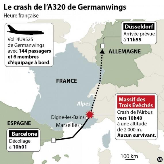 Crash de l'A320 : qui était à bord ? Vers le rétablissement des contrôles à l'intérieur de l'espace Schengen…