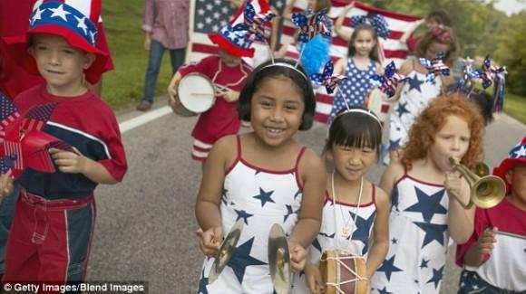 Enfants americains minorite