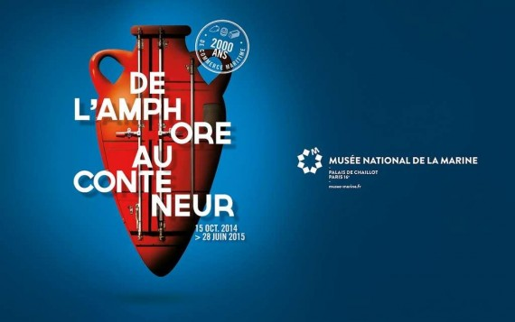 Exposition De l'amphore au conteneur, 2000 ans de commerce maritime