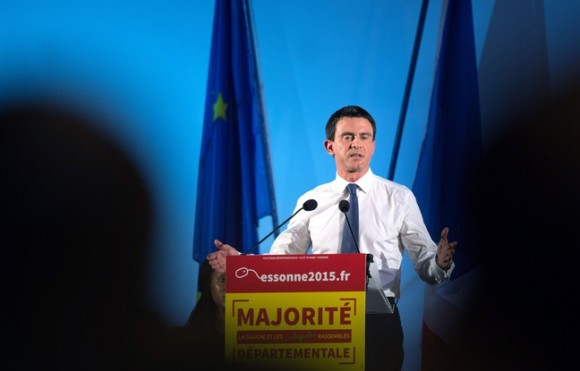 Manuels Valls campagne electorale