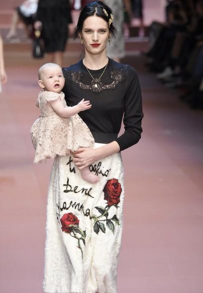 Mode Dolce et Gabbana hommage mamans