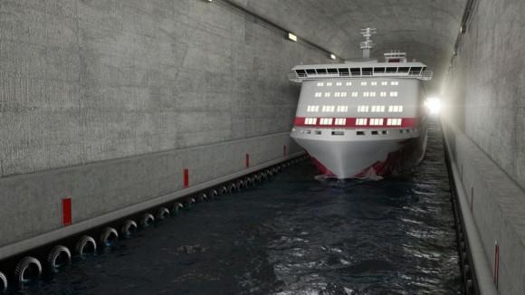 Norvege tunnel maritime plus grand 2