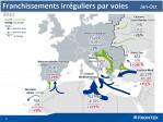 Presque trois fois plus de clandestins – officiels – pour l'UE en 2014 selon Frontex