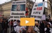RSI:  Plus de 30 000 «travailleurs indépendants» dans les rues de Paris