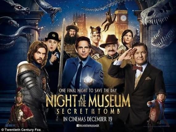 La nuit au musée, le secret des pharaons [1 cœur]
