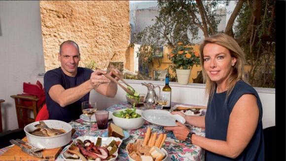 ministre grec des Finances roman photo Paris Match