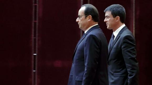 Critiques gauche Hollande Valls