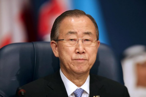 Immigration ONU Ban Ki-moon refuse solution militaire Union europeenne