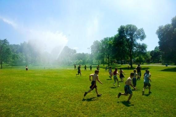 Maryland enfants arretes police jouaient seuls