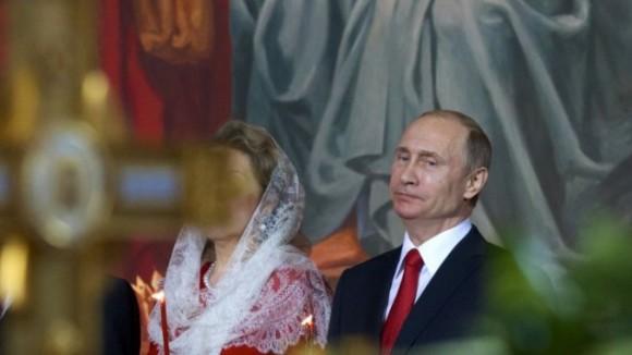 Paques Poutine Eglise orthodoxe esprit patriotisme Russie