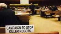 Réunion à l'ONU sur la question des systèmes d'armes létales autonomes, ou «robots tueurs»