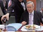Jean-Claude Juncker, euphorique à Riga…