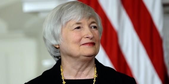 La phrase: «Je voudrais souligner que la valorisation des marchés boursiers aujourd'hui est généralement assez haute