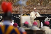 Le pape François appelle à lutter contre le réchauffement climatique lors de l'AG de Caritas