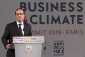 «Réchauffement climatique»: des dirigeants d'entreprise réunis à Paris pour réclamer un prix élevé du carbone