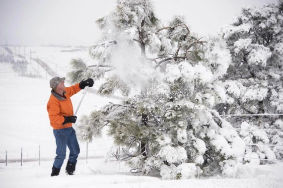 Colorado neige
