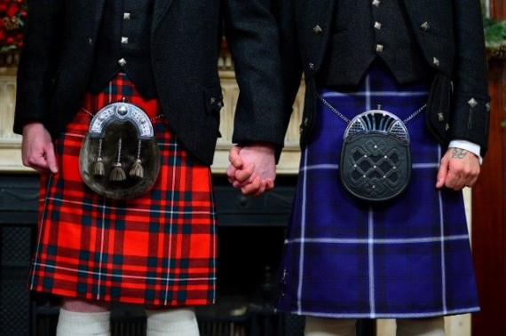 Ecosse proportion mariage gay
