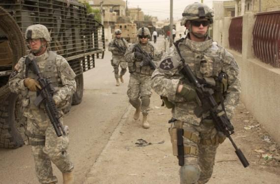 Etats-Unis  soldats  Irak Etat Islamique strategie