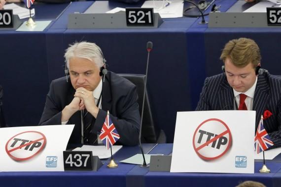 Le traité transatlantique (TAFTA) déchire le parlement européen