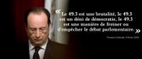 Loi Macron: Manuel Valls s'habitue à gouverner au 49-3
