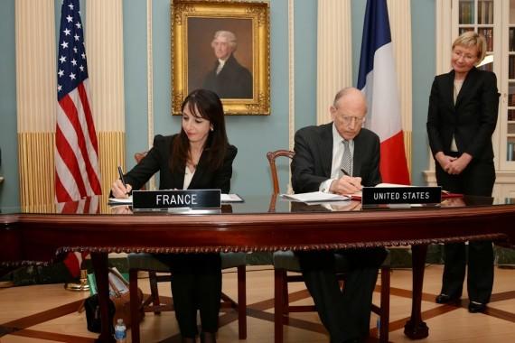 Modification d'un accord franco-américain sur l'indemnisation de victimes de la Shoah