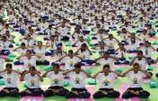 Première journée internationale du yoga, soutenue et encouragée par les autorités de l'ONU
