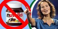 Ségolène Royal déclenche une polémique sur le Nutella