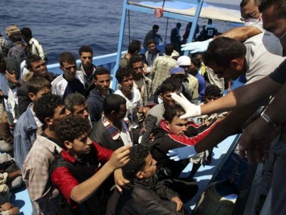 Union europeenne invasion clandestins sans precedent