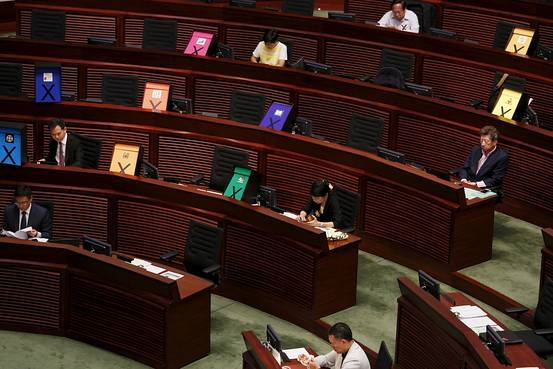 deputes  Hong-Kong projet reforme Pekin