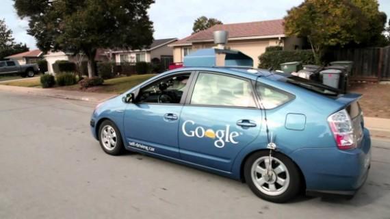 voitures sans chauffeur Google