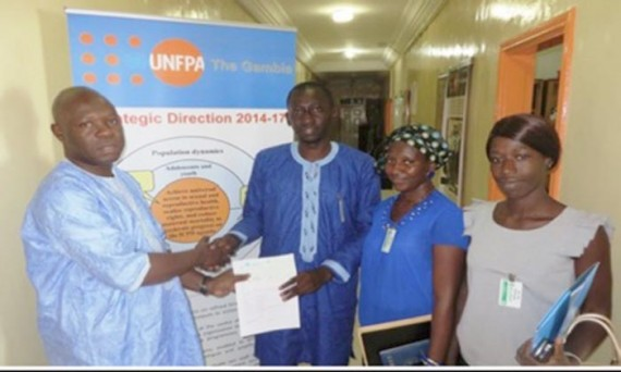 FNUAP Fonds Nations unies Population planning familial journalistes Gambie