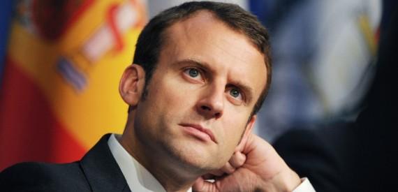 Macron roi