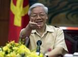 Nguyen Phu Trong, secrétaire général du parti communiste du Vietnam, en visite aux Etats-Unis