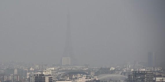 Pollution air milliards France