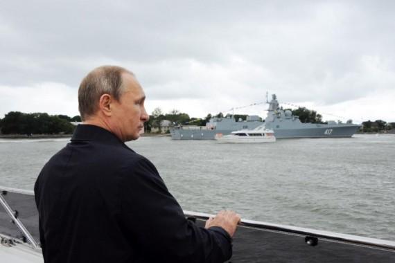 Russie doctrine navale Otan