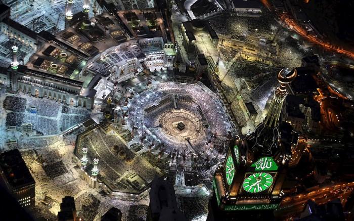 photo Mecque islam anniversaire Coran révélé Mahomet