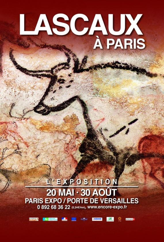 EXPOSITION ART PREHISTORIQUE Lascaux Paris