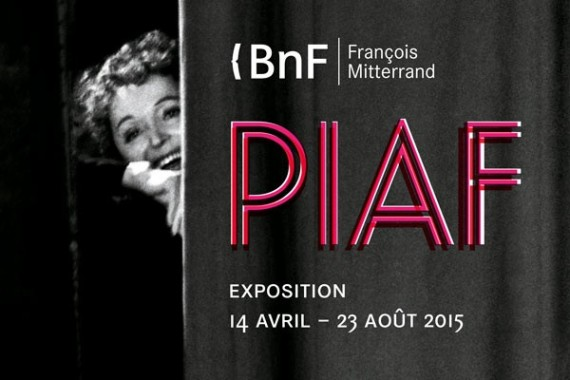 Edith Piaf exposition BNF