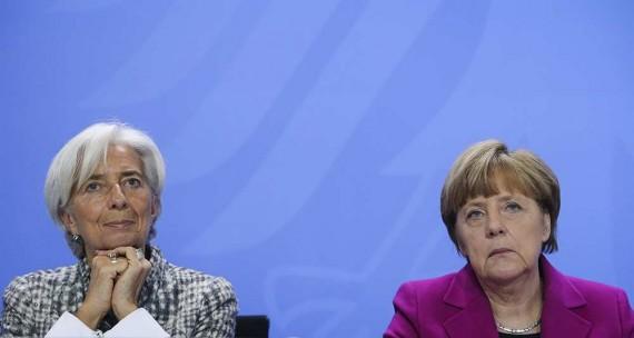 Grèce Merkel pression FMI