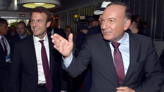 Macron MEDEF Demandez-vous pouvez faire le Luc