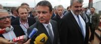 PS: Manuel Valls recadre Macron