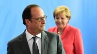 Migrants: Angela Merkel et François Hollande demandent une politique commune de l'Union européenne