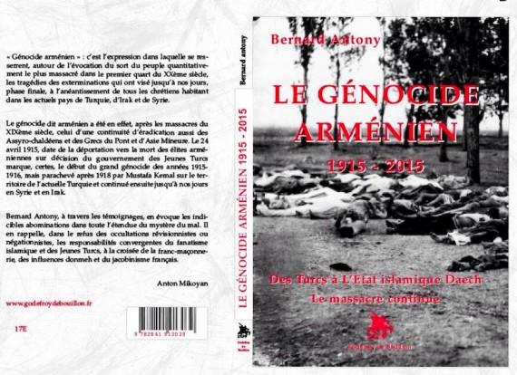 génocide arménien Bernard Antony