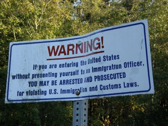 Américains pensent immigration illégale problème